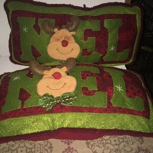 Two Xmas pillows